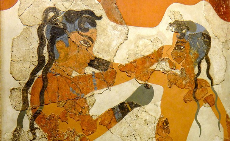 Guide me in Greece tours - Akrotiri