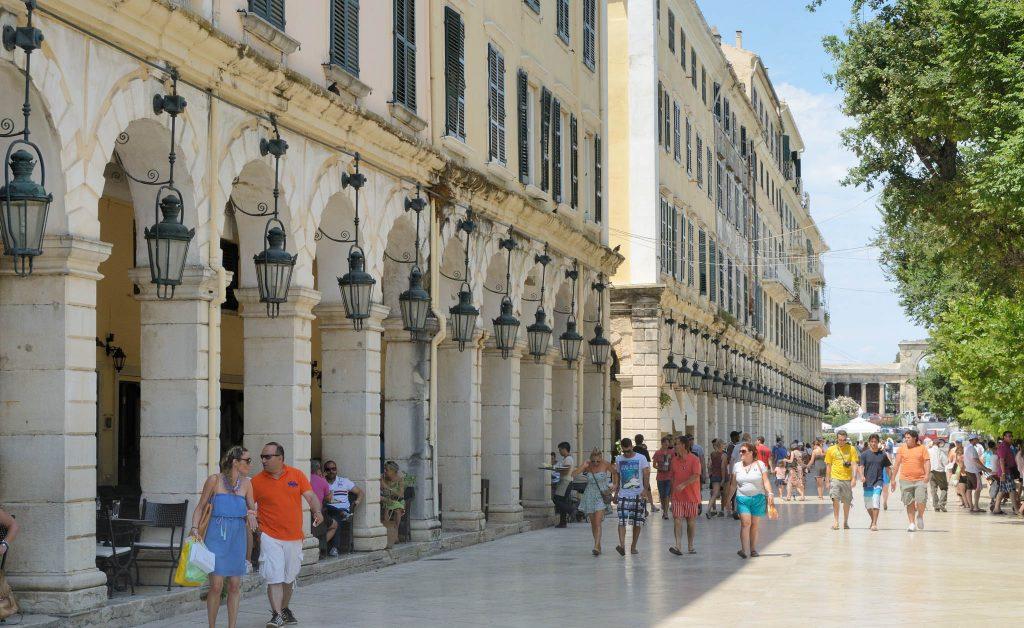 corfu walking tours