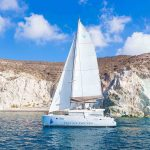 santorini catamaran private tour